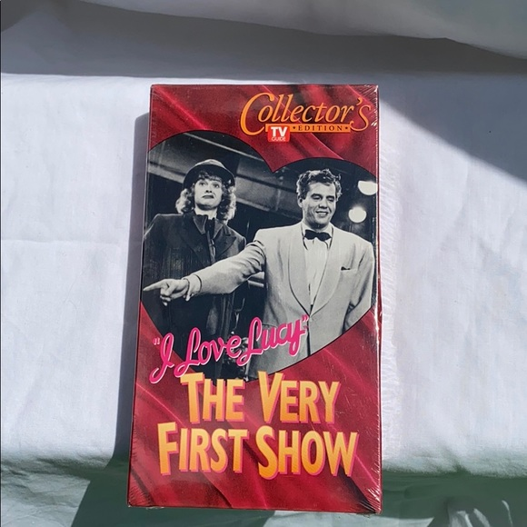 NIB I Love Lucy / The Very First Show VHS tape